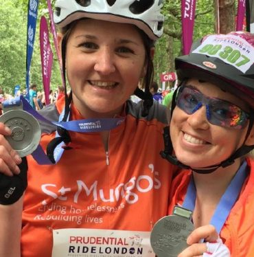Image: Prudential Ride London St Mungo's