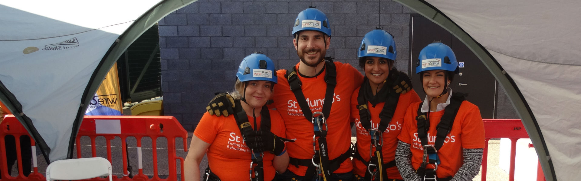 Image: Abseil for St Mungo's