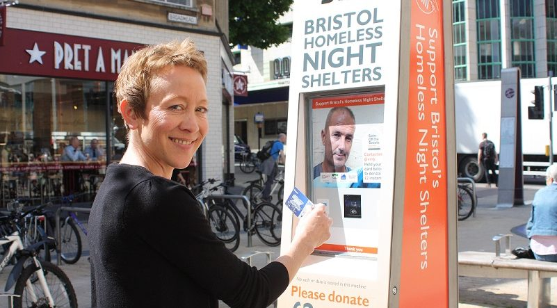 Bristol SOS Night Shelter Appeal Contactless Donations