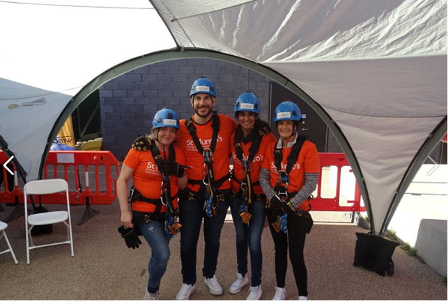 Image: St Mungos Charity Abseil