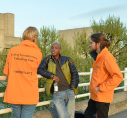Image: St Mungo's Outreach workers