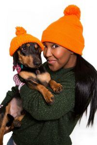 Image: Angellica Bell, Woolly Hat Day