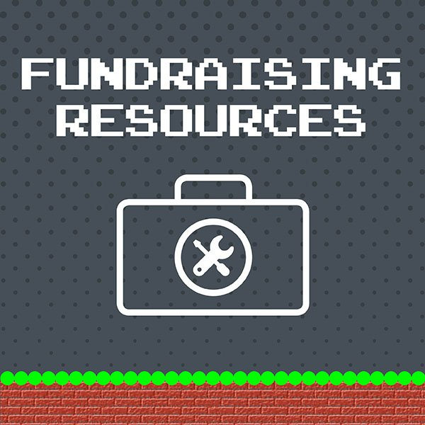 Image: fundraising resources graphic