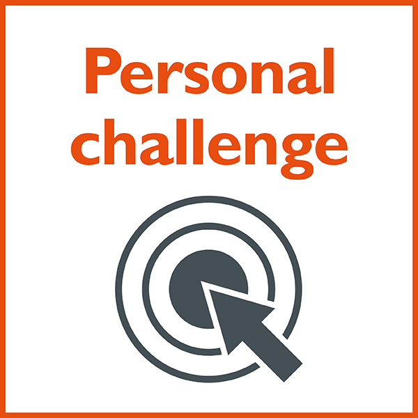 50@50 Personal Challenge