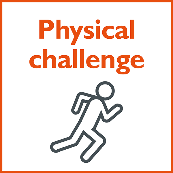 graphic: physical challenge
