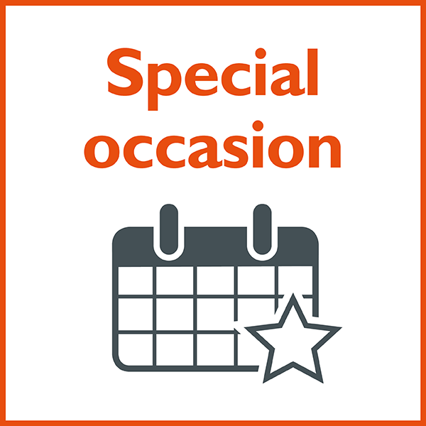Graphic: Special occasion
