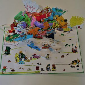 Image: Paul Smith pop out book