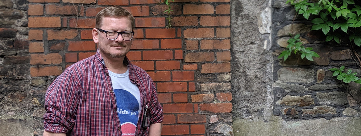 Photo of Andrew Cook, St Mungo's Support Work in Bristol