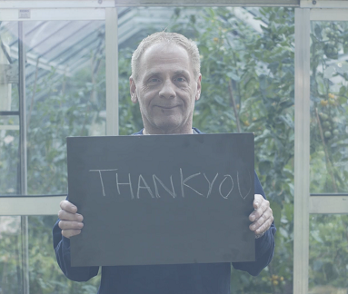 Image: Thank you from clients