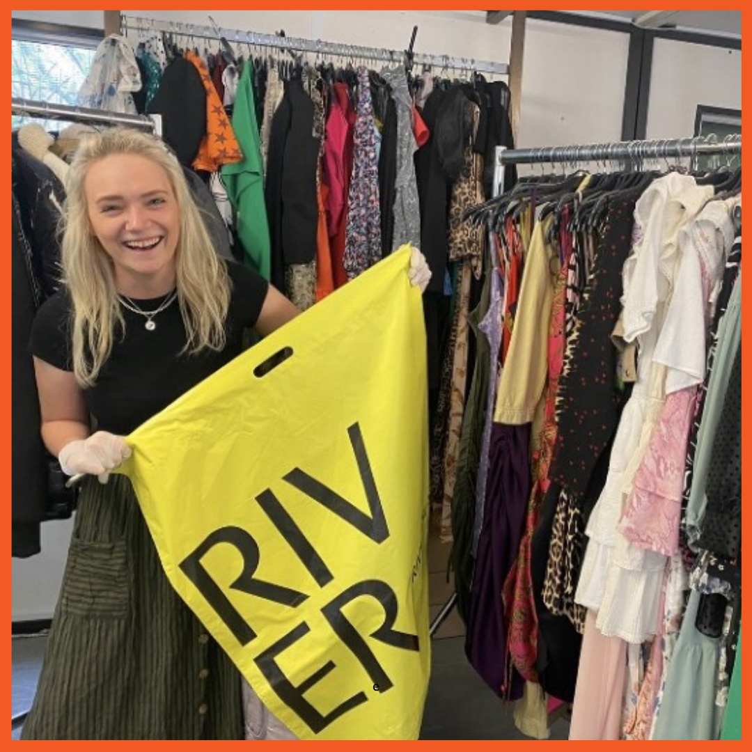 River Island donated thousands of clothes to people in hotels