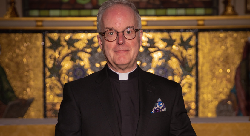 image: Fr David Armstrong, St Botolph Without Bishopsgate Callout Block